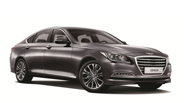 Hyundai Genesis VOR-Facelift