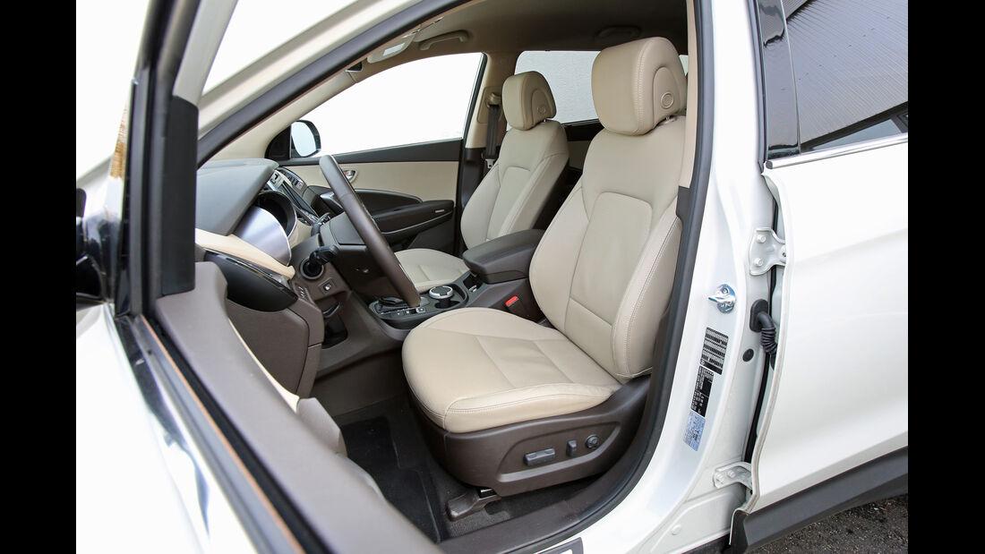 Hyundai Grand Santa Fe 2.2 CRDi 4WD, Fahrersitz
