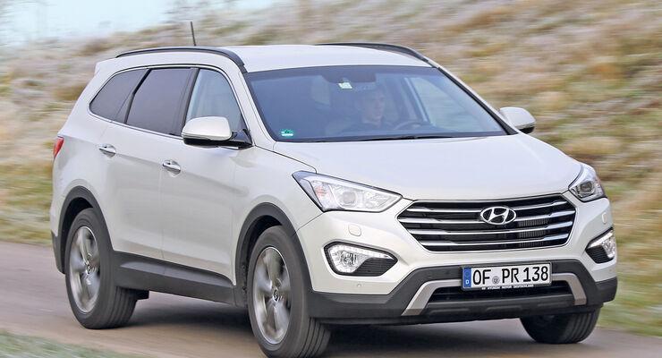 Hyundai Grand Santa Fe 2.2 CRDi 4WD, Frontansicht