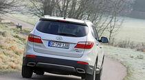 Hyundai Grand Santa Fe 2.2 CRDi 4WD, Heckansicht