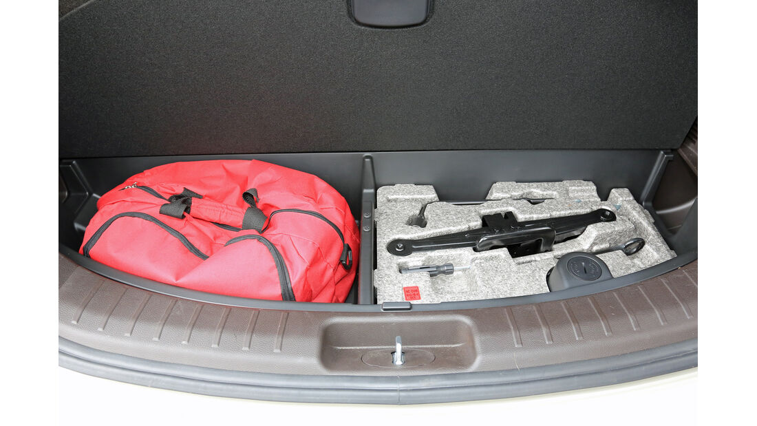 Hyundai Grand Santa Fe 2.2 CRDi 4WD, Kofferraum