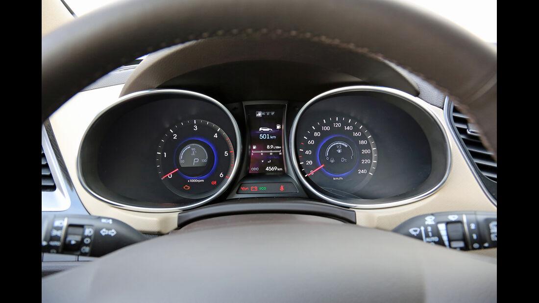 Hyundai Grand Santa Fe 2.2 CRDi 4WD, Rundinstrumente