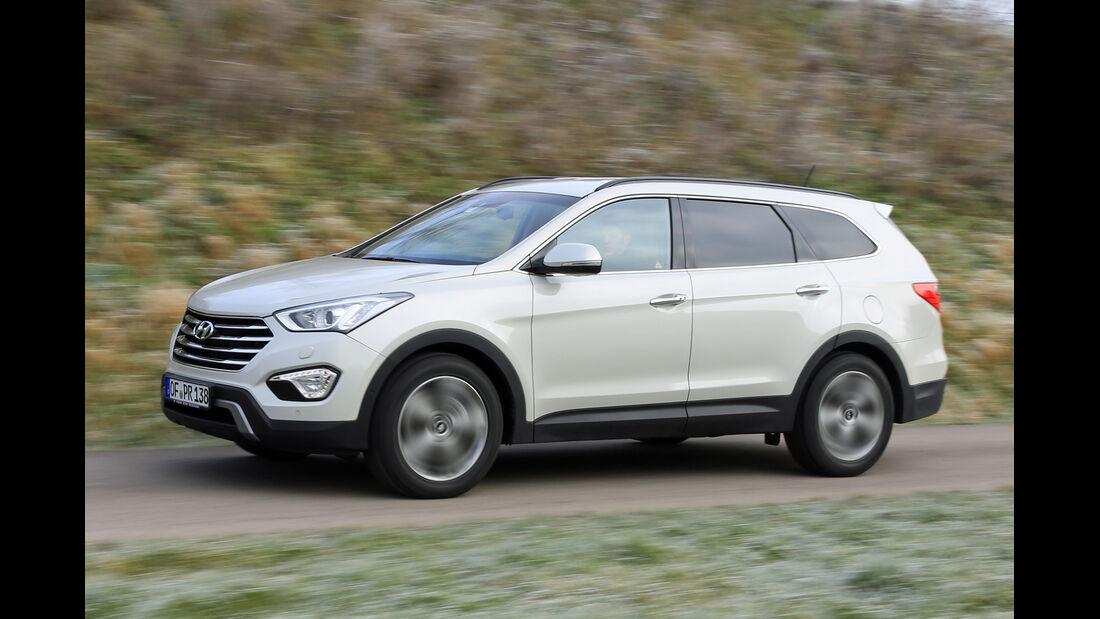 Hyundai Grand Santa Fe 2.2 CRDi 4WD, Seitenansicht