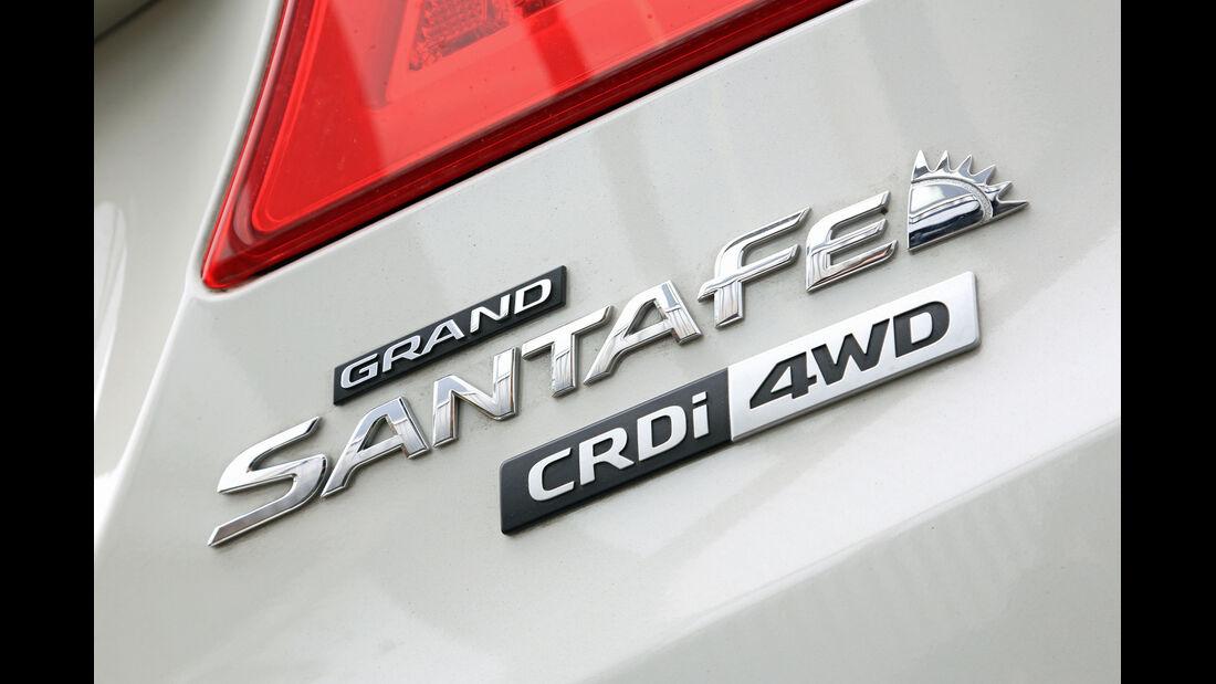 Hyundai Grand Santa Fe 2.2 CRDi 4WD, Typenbezeichnung