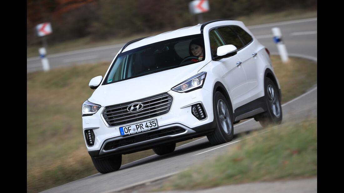 Hyundai Grand Santa Fe 2.2 CRDi Front