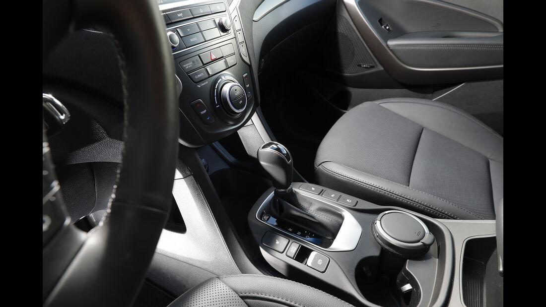 Hyundai Grand Santa Fe 2.2 CRDi Innenraum