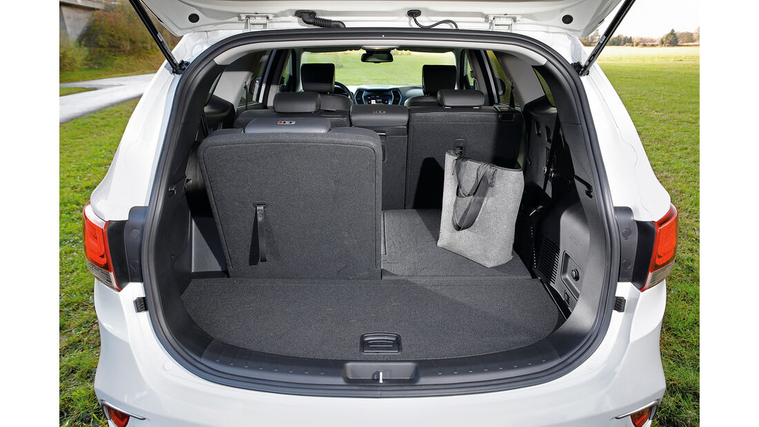 Hyundai Grand Santa Fe 2.2 CRDi Kofferraum