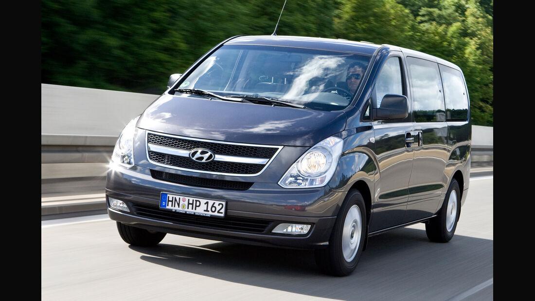 Hyundai H-1 Travel, Frontansicht
