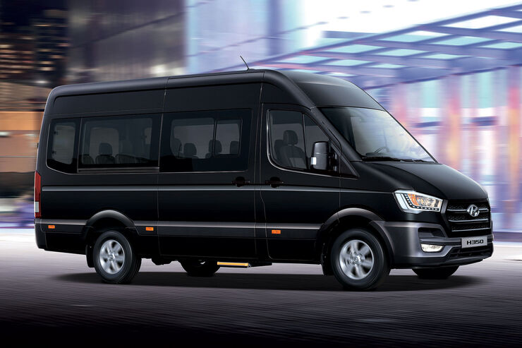 hyundai h350 korea transporter auch als bus auto motor und sport. Black Bedroom Furniture Sets. Home Design Ideas