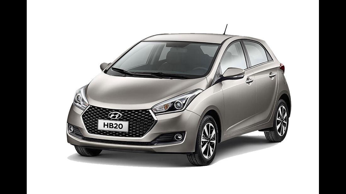 Hyundai HB20 Brasilien
