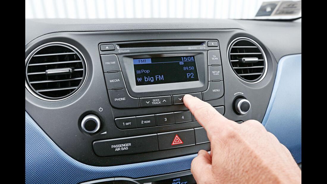 Hyundai I10 Blue 1.0, Radio, Infotainment