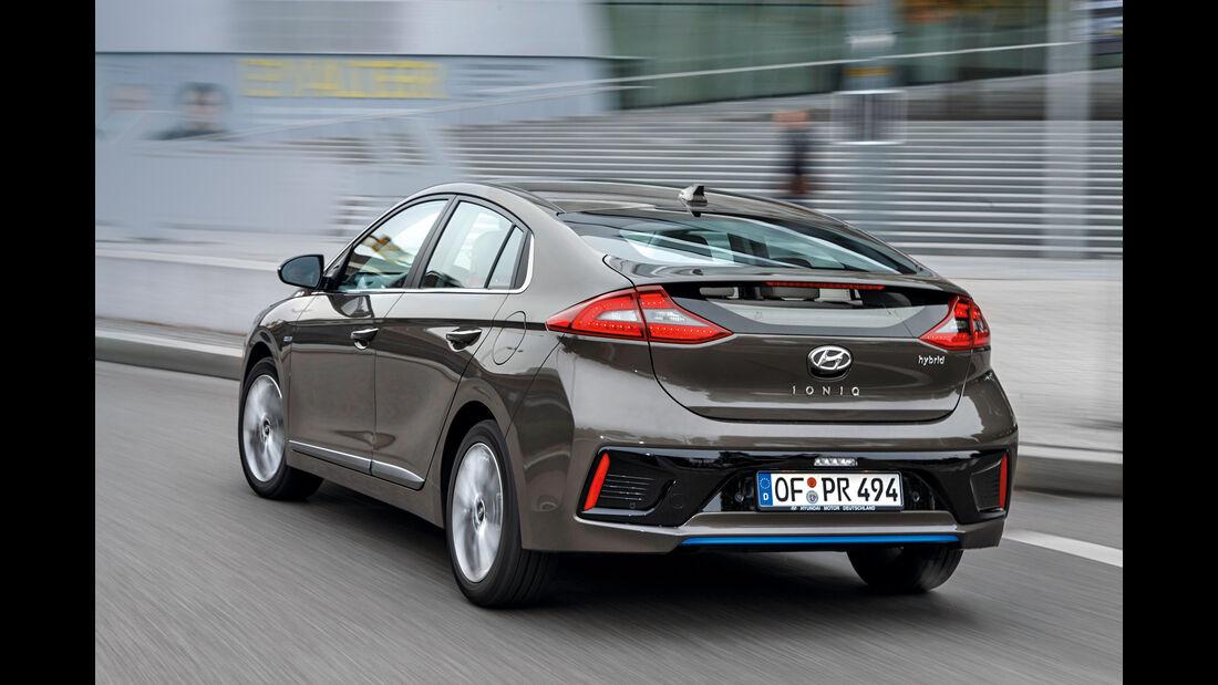 Hyundai Ioniq 1.6 GDI Hybrid, Heckraum