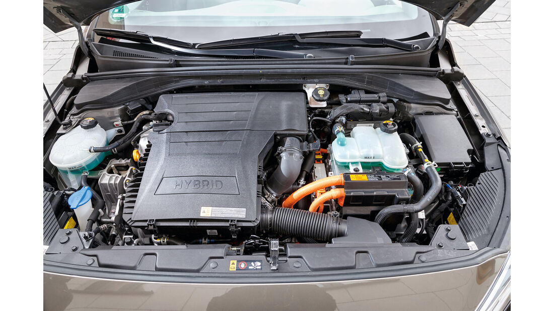 Hyundai Ioniq 1.6 GDI Hybrid, Motor