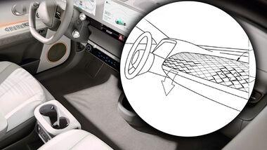 Hyundai Ioniq 5 Cockpit Luftströmer Patent