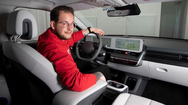 Hyundai Ioniq 5 Erster Check Sitzprobe Studio