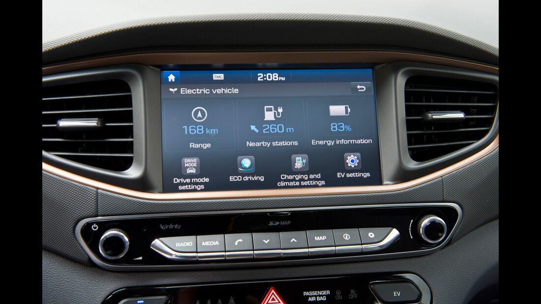 Hyundai Ioniq Electric, Anzeigeinstrumente