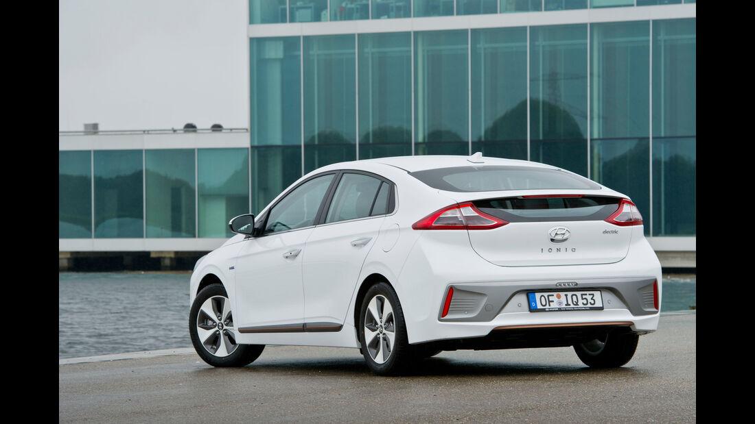 Hyundai Ioniq Electric, Heckansicht