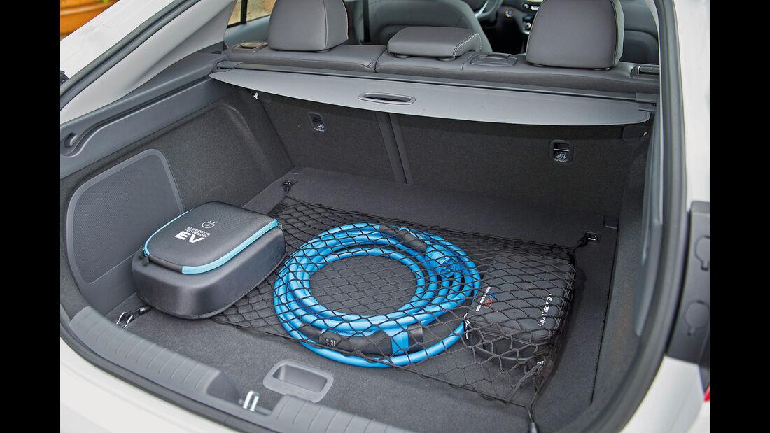 Hyundai Ioniq Electric, Kofferraum