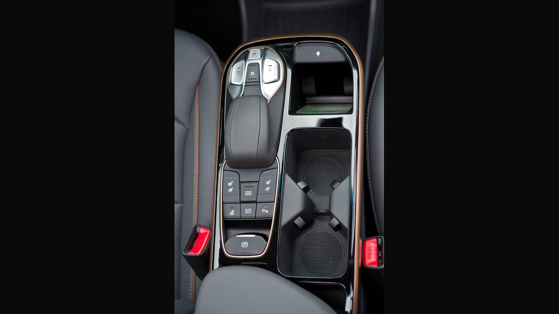 Hyundai Ioniq Electric, Mittelkonsole