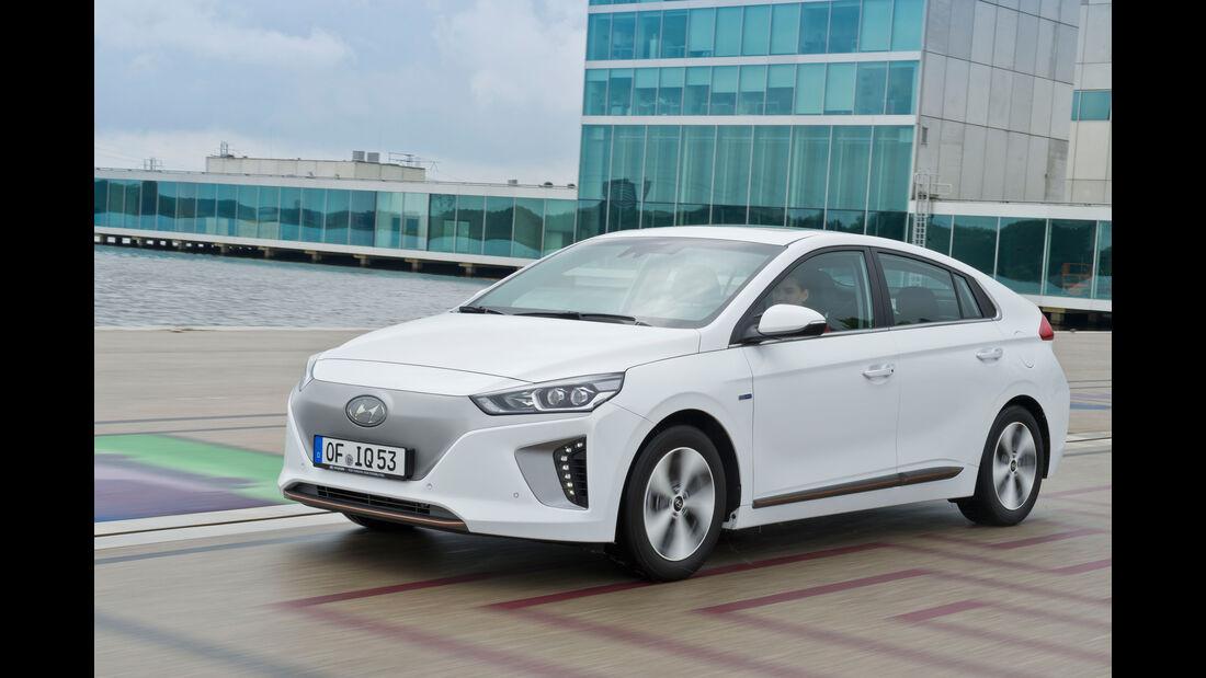 Hyundai Ioniq Electric, Seitenansicht