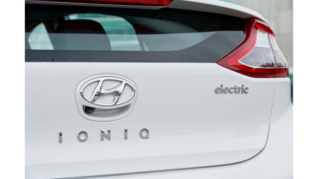 Hyundai Ioniq Electric, Typenbezeichnung