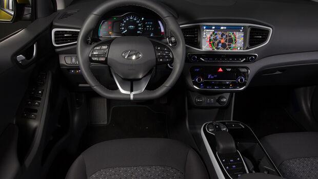 Hyundai Ioniq Elektro, Cockpit