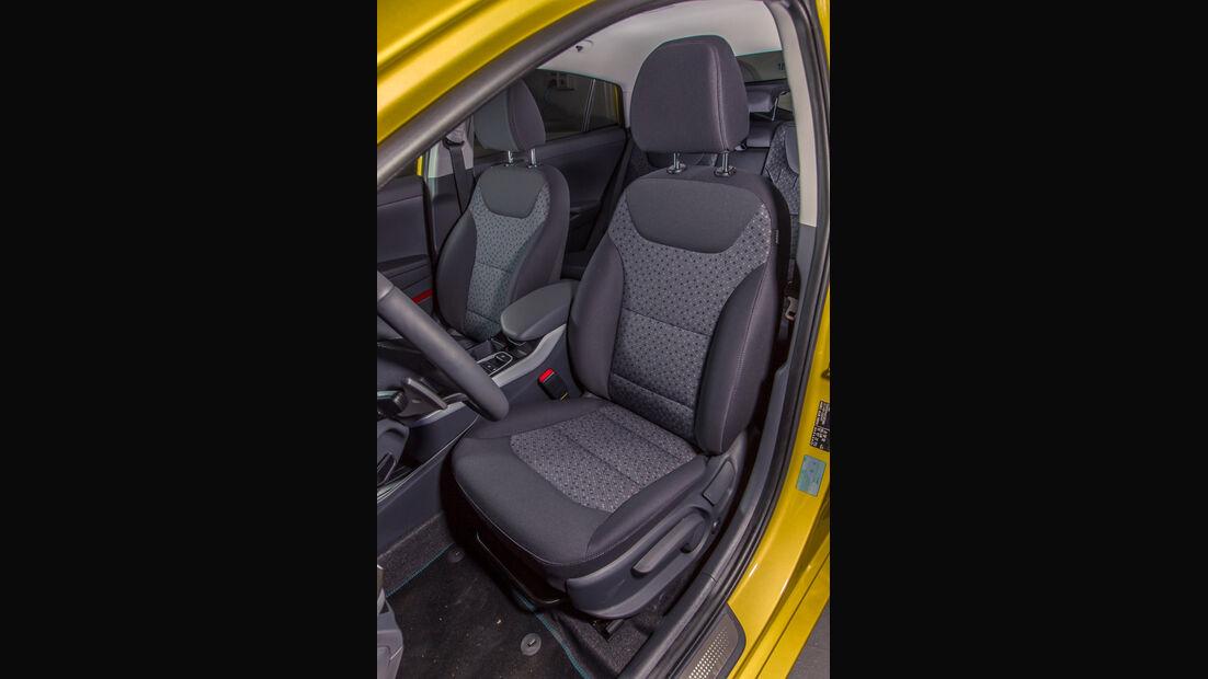 Hyundai Ioniq Elektro, Fahrersitz