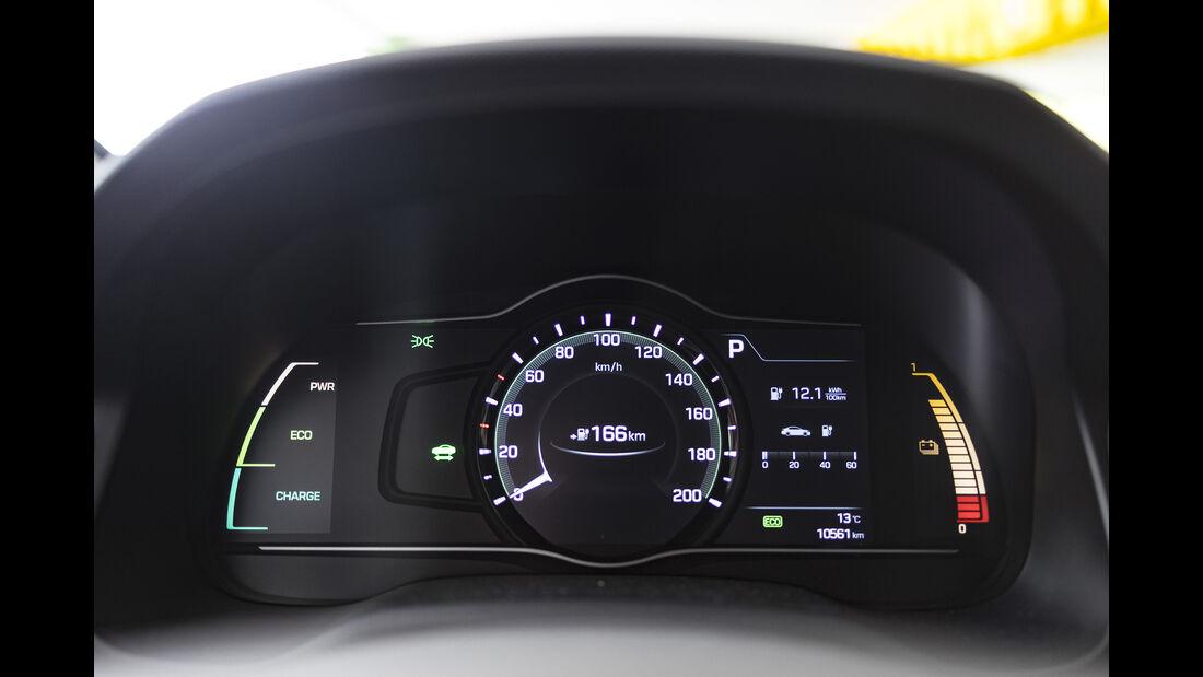 Hyundai Ioniq Elektro, Interieur