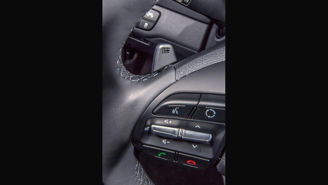 Hyundai Ioniq Elektro, Lenkradtasten