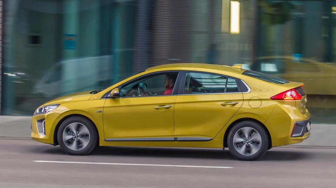 Hyundai Ioniq Elektro, Seitenansicht