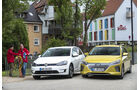 Hyundai Ioniq, VW e-Golf