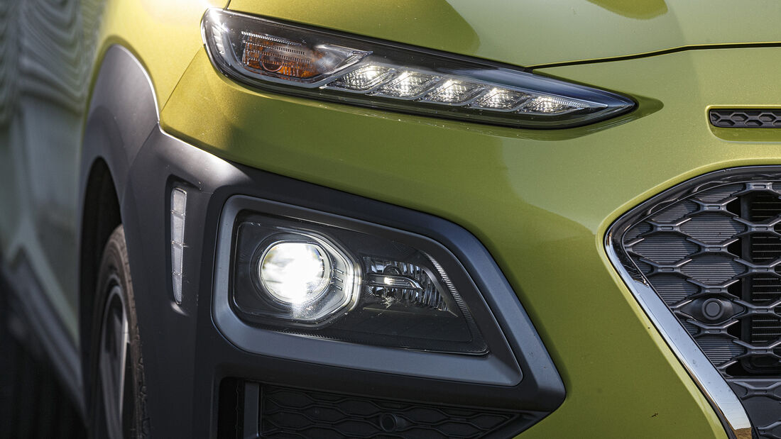 Hyundai Kona 1.0 T-GDI, Exterieur