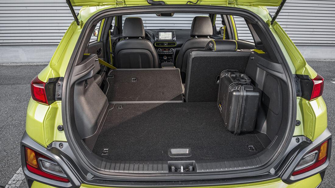 Hyundai Kona 1.0 T-GDI, Kofferraum