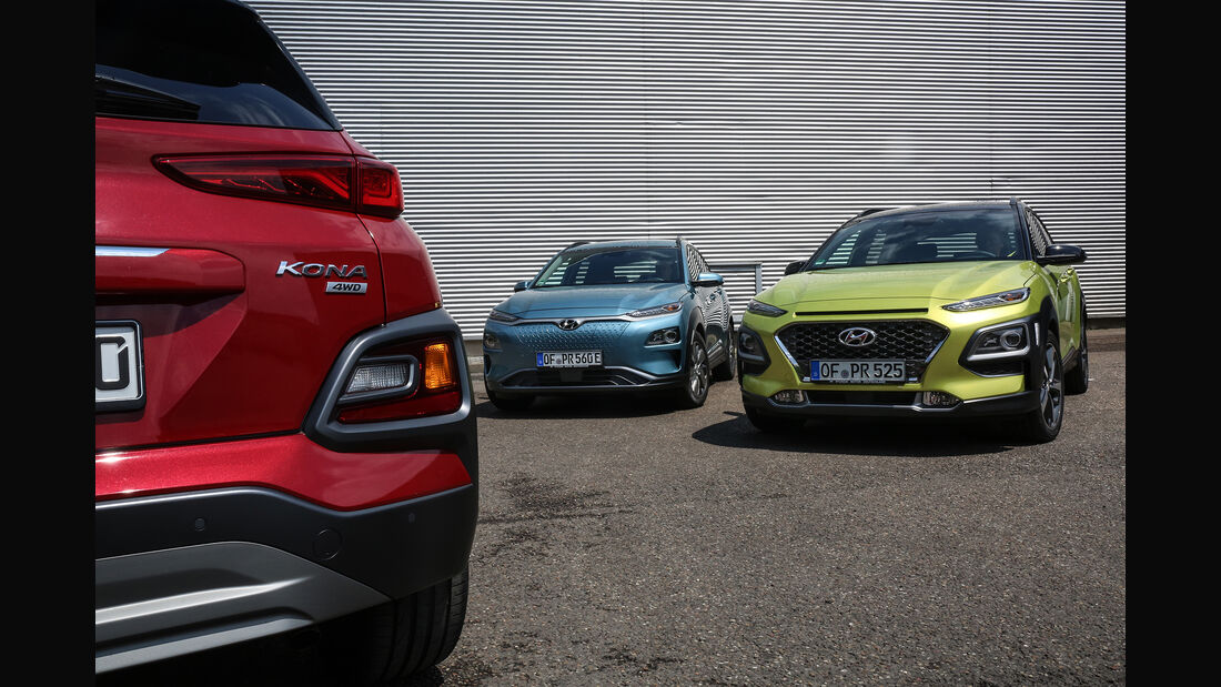 Hyundai Kona Benzin, Diesel, Elektro, Exterieur