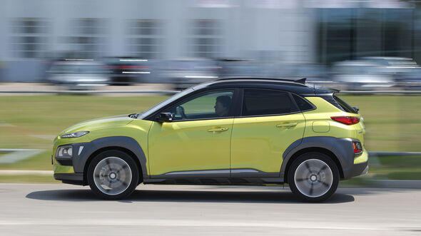 Hyundai Kona Benzin, Exterieur