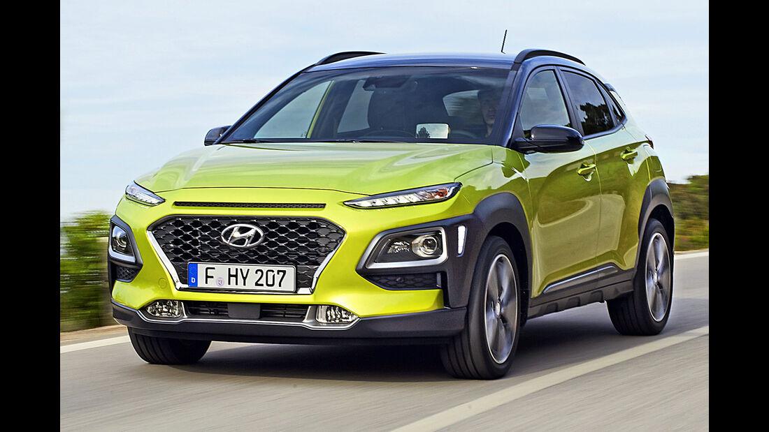 Hyundai Kona, Best Cars 2020, Kategorie I Kompakte SUV/Geländewagen