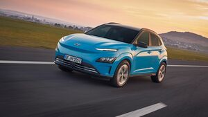 Hyundai Kona Electric Facelift 2021