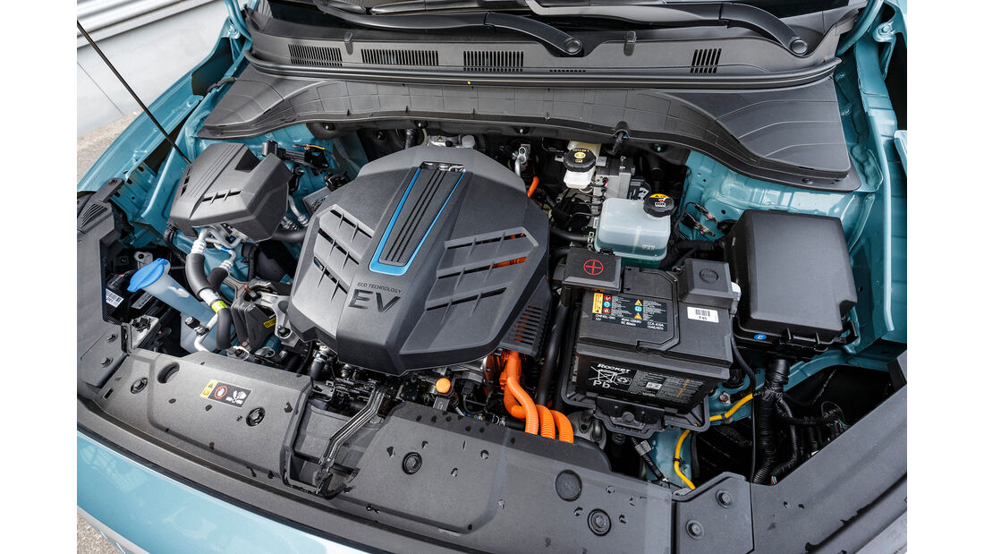 Hyundai Kona Elektro, Interieur
