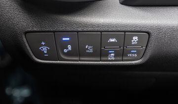 Hyundai Kona Elektro Interieur Assistenzsysteme