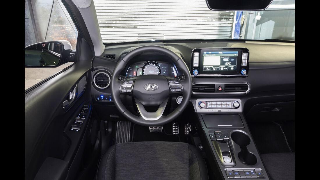 Hyundai Kona Elektro Interieur Cockpit