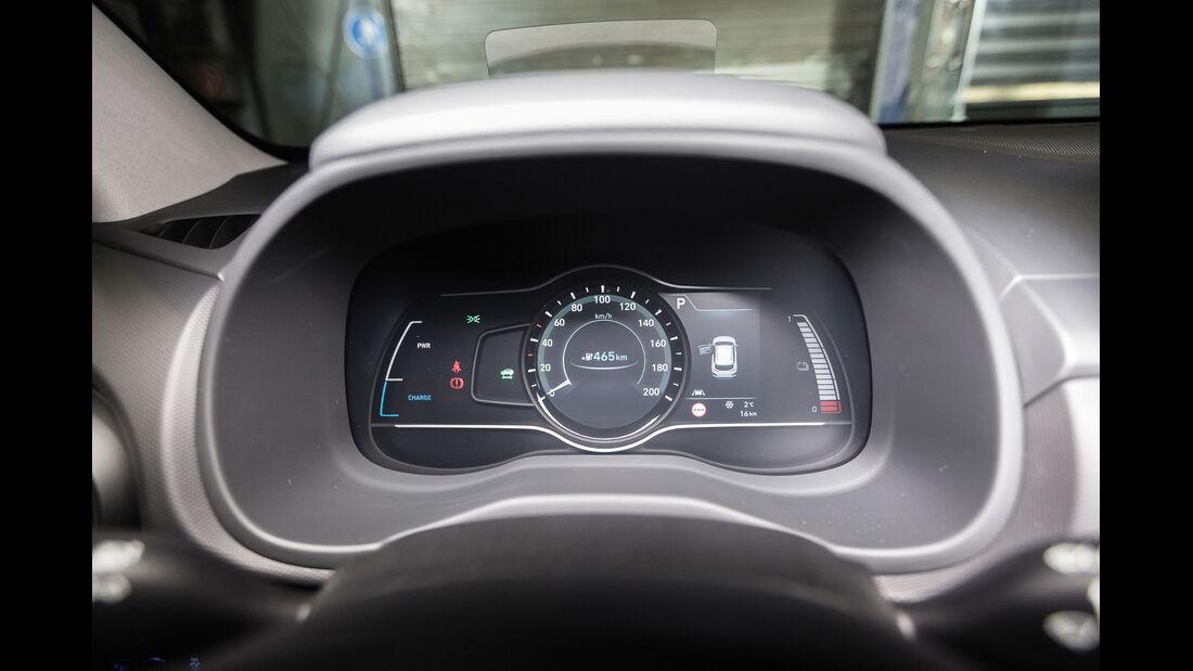 Hyundai Kona Elektro Interieur Instrumente