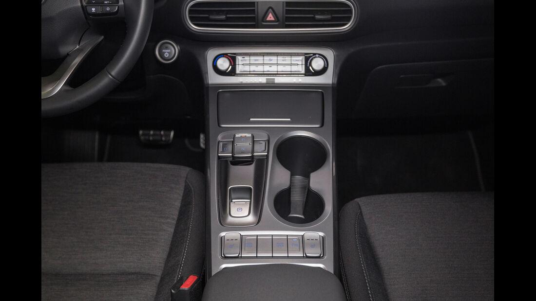 Hyundai Kona Elektro Interieur Mittelkonsole