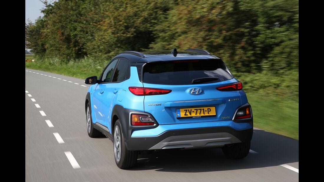 Hyundai Kona Hybrid, Exterieur