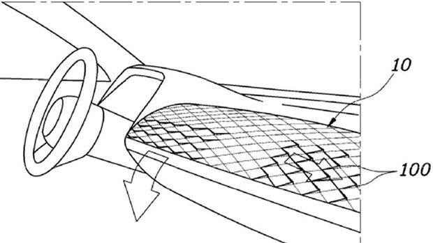 Hyundai Lüftungsströmer Patent