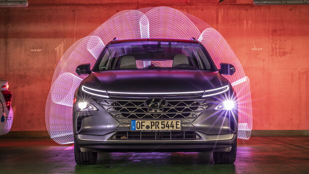 Hyundai Nexo, Exterieur
