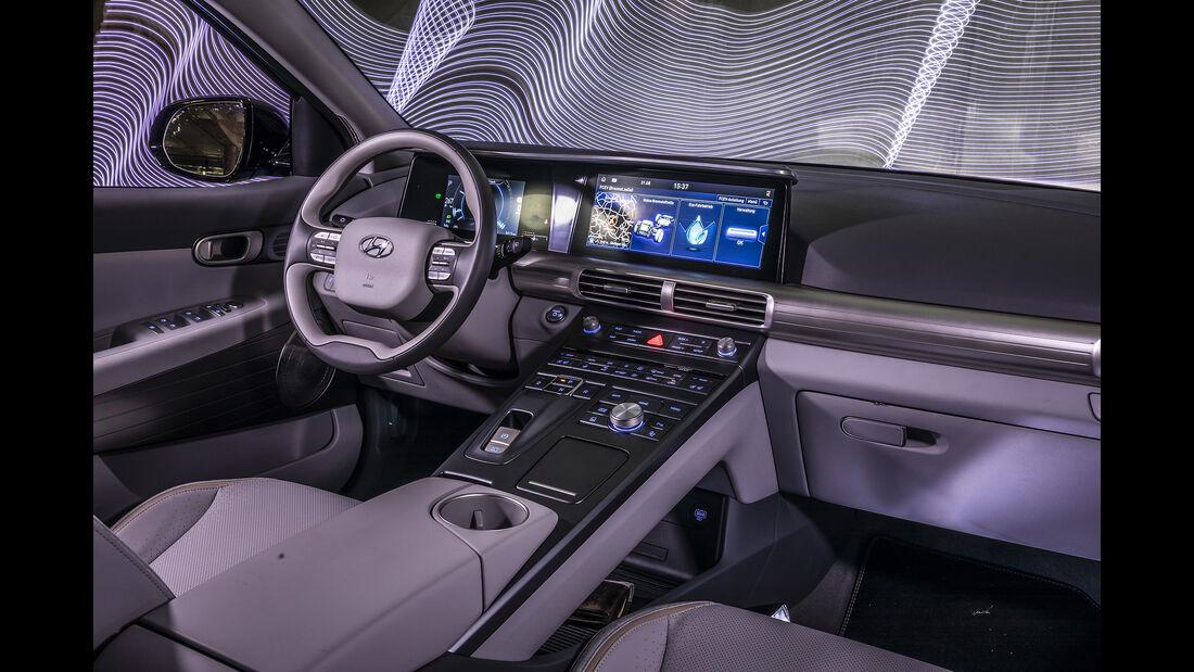 Hyundai Nexo, Interieur