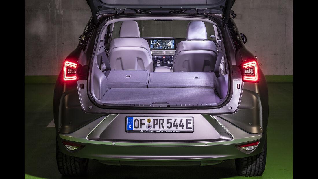 Hyundai Nexo, Kofferraum