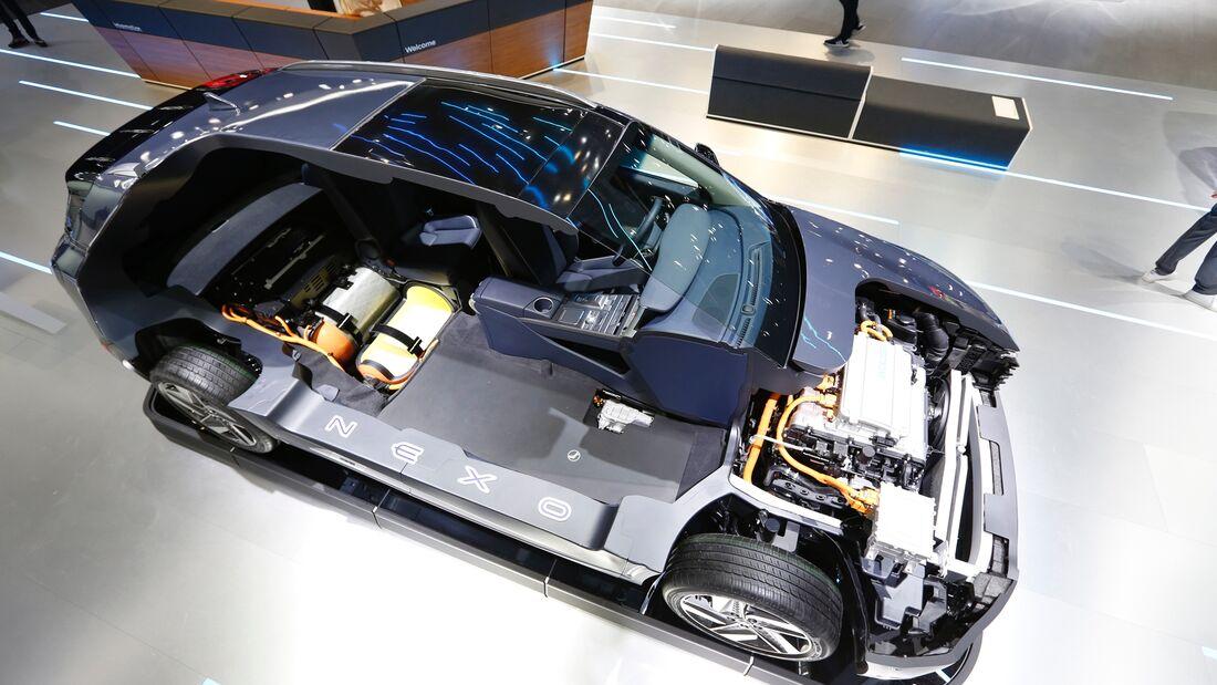Hyundai Nexo Wasserstoff Technik Brennstoffzelle