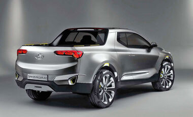 Hyundai Santa Cruz Truck Concept