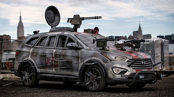 Hyundai Santa Fe, 10/2013, Comic-Auto
